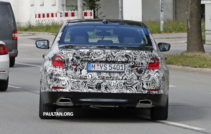 VIDEO: G30 BMW 5 Series teased ahead of Paris debut Image #547386