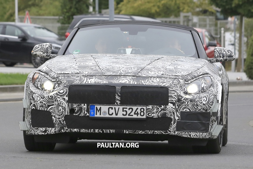 SPYSHOTS: BMW Z5 on the 'Ring, including interior Image #552737