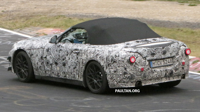 SPYSHOTS: BMW Z5 on the 'Ring, including interior Image #552764
