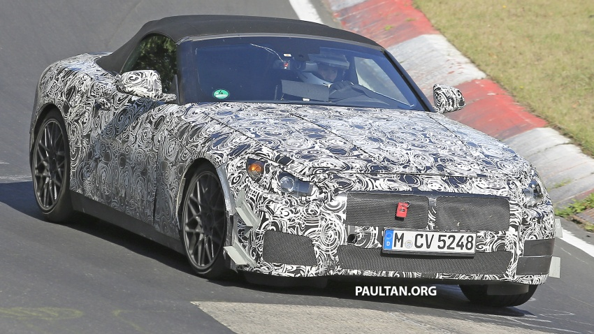 SPYSHOTS: BMW Z5 on the 'Ring, including interior Image #552746