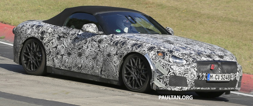 SPYSHOTS: BMW Z5 on the 'Ring, including interior Image #552747