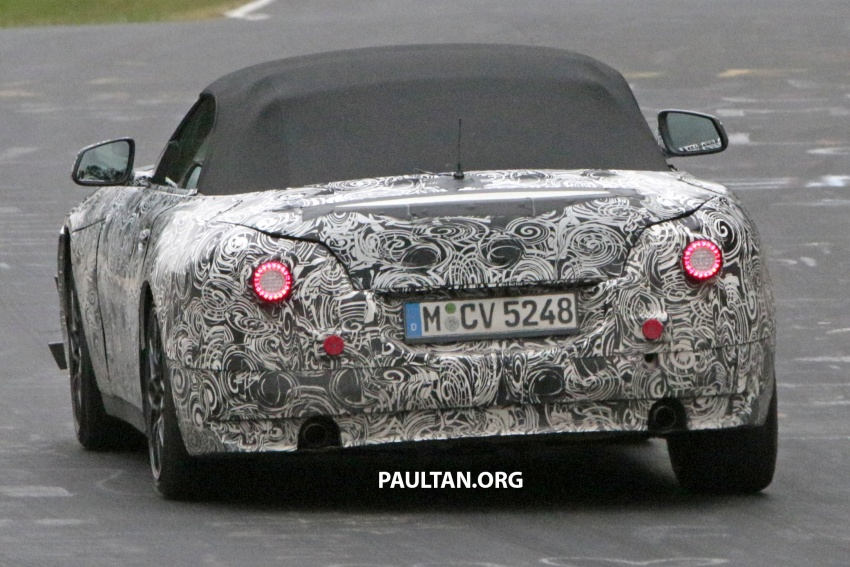 SPYSHOTS: BMW Z5 on the 'Ring, including interior Image #552766