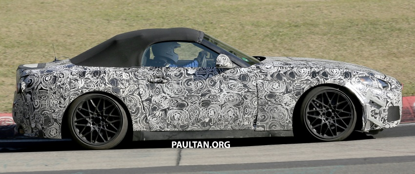 SPYSHOTS: BMW Z5 on the 'Ring, including interior Image #552749