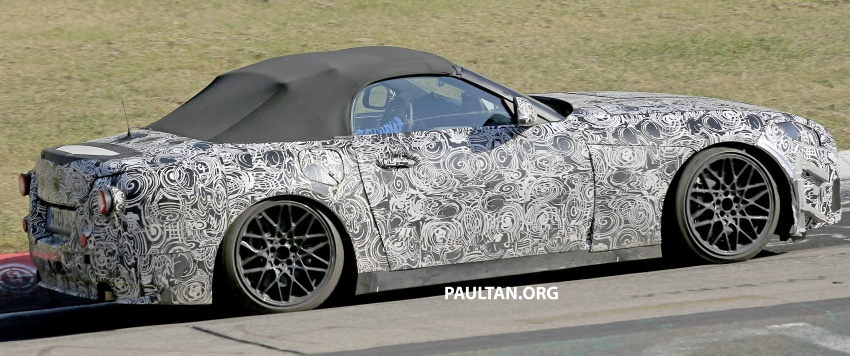 SPYSHOTS: BMW Z5 on the 'Ring, including interior Image #552750
