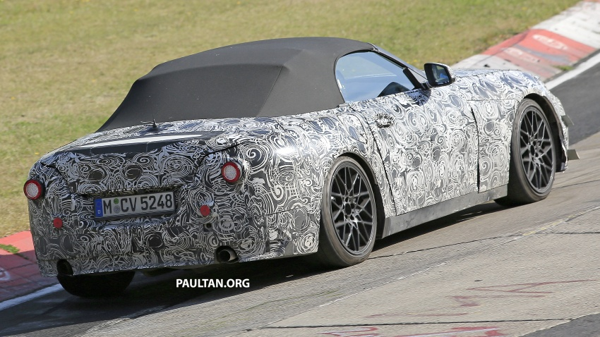 SPYSHOTS: BMW Z5 on the 'Ring, including interior Image #552751