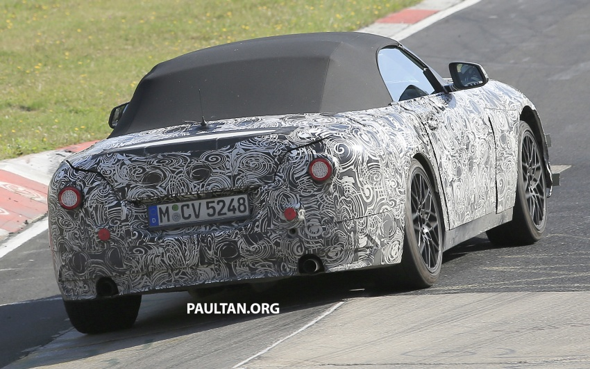 SPYSHOTS: BMW Z5 on the 'Ring, including interior Image #552753