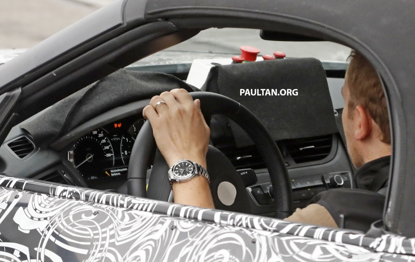 SPYSHOTS: BMW Z5 on the 'Ring, including interior Image #552755