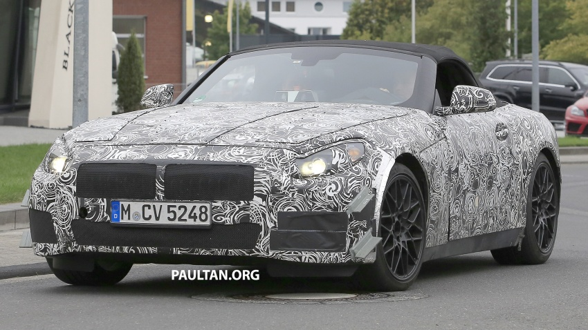 SPYSHOTS: BMW Z5 on the 'Ring, including interior Image #552739