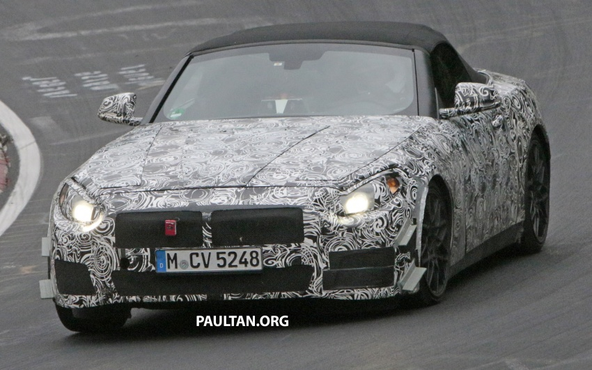 SPYSHOTS: BMW Z5 on the 'Ring, including interior Image #552757
