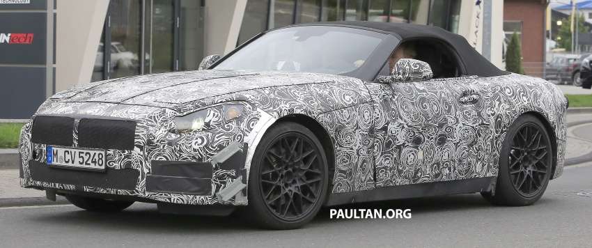 SPYSHOTS: BMW Z5 on the 'Ring, including interior Image #552740