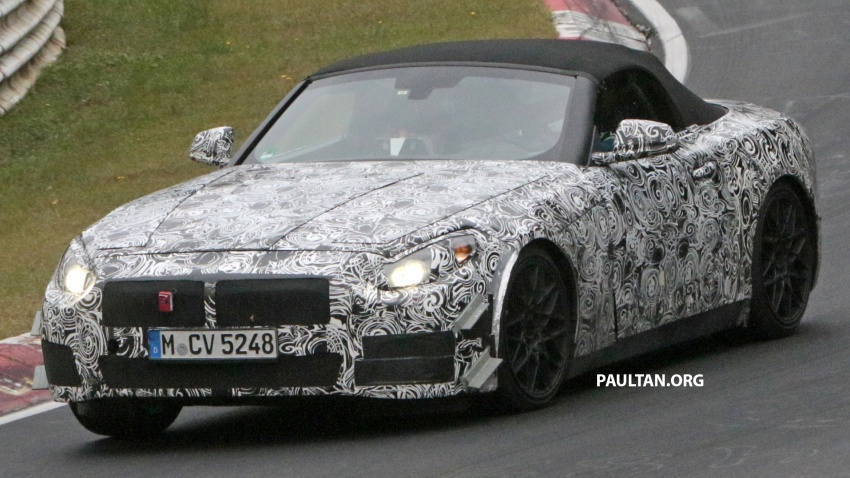 SPYSHOTS: BMW Z5 on the 'Ring, including interior Image #552758