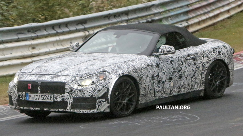 SPYSHOTS: BMW Z5 on the 'Ring, including interior Image #552759