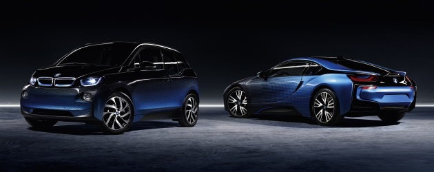 Bmw I8 And I3 Crossfade Concepts Debut In Paris