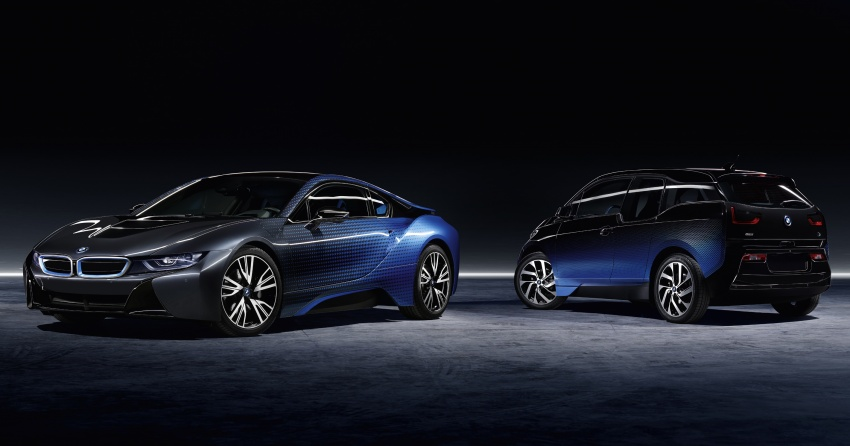 BMW i8 and i3 CrossFade concepts debut in Paris Image #557535