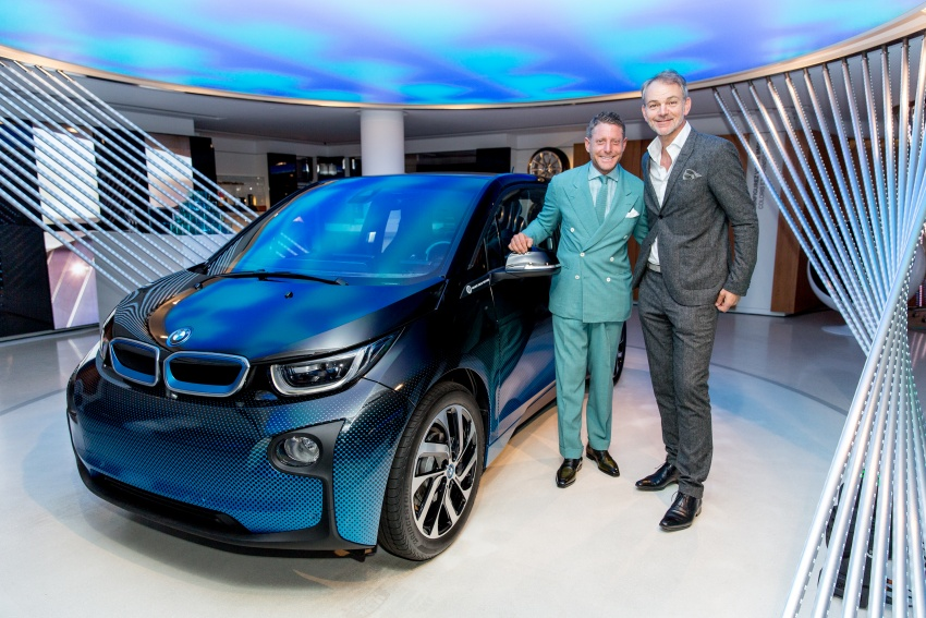 BMW i8 and i3 CrossFade concepts debut in Paris Image #557537