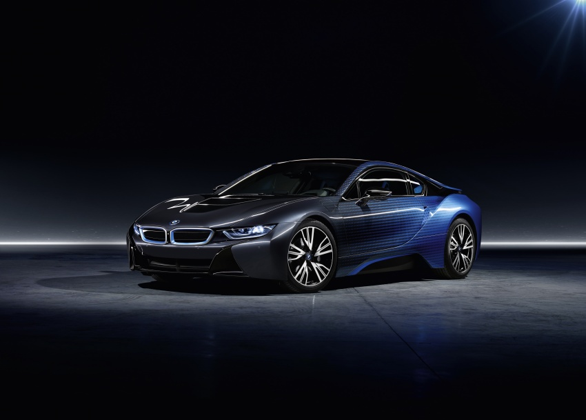 BMW i8 and i3 CrossFade concepts debut in Paris Image #557547
