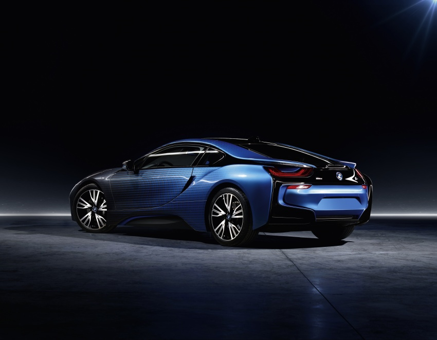BMW i8 and i3 CrossFade concepts debut in Paris Image #557548