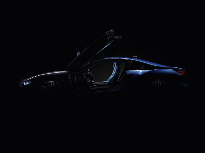 BMW i8 and i3 CrossFade concepts debut in Paris Image #557553