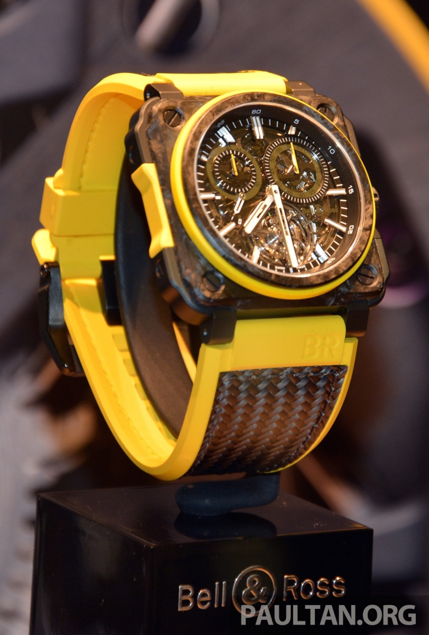 Bell & Ross joins forces with Renault F1 Team – limited edition BR-X1 RS16 Tourbillon for RM691k Image #549459
