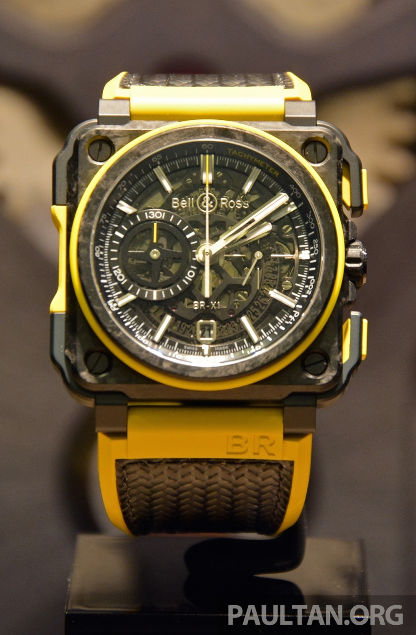 Bell & Ross joins forces with Renault F1 Team – limited edition BR-X1 RS16 Tourbillon for RM691k Image #549469
