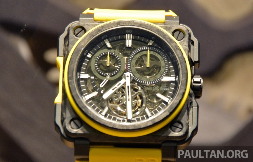 Bell & Ross joins forces with Renault F1 Team – limited edition BR-X1 RS16 Tourbillon for RM691k Image #549460