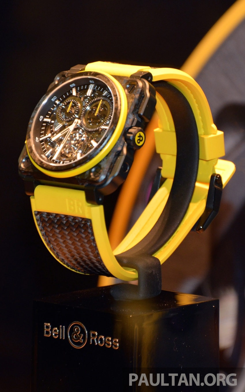 Bell & Ross joins forces with Renault F1 Team – limited edition BR-X1 RS16 Tourbillon for RM691k Image #549462