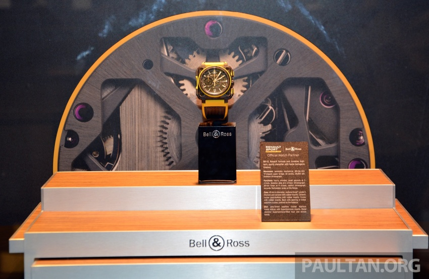 Bell & Ross joins forces with Renault F1 Team – limited edition BR-X1 RS16 Tourbillon for RM691k Image #549464