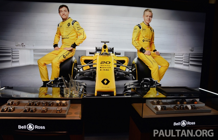 Bell & Ross joins forces with Renault F1 Team – limited edition BR-X1 RS16 Tourbillon for RM691k Image #549466