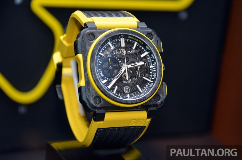 Bell & Ross joins forces with Renault F1 Team – limited edition BR-X1 RS16 Tourbillon for RM691k Image #549467