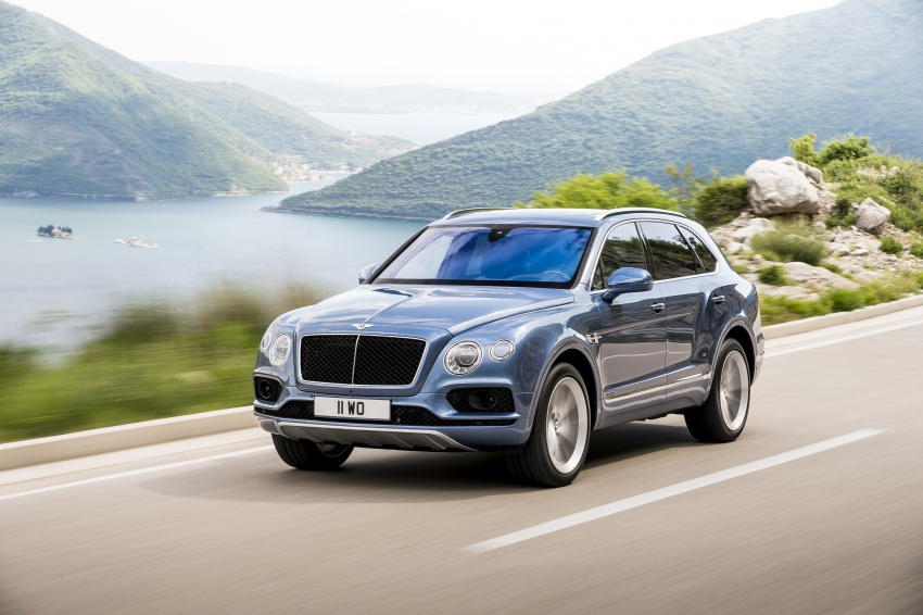 Bentley Bentayga Diesel – world's fastest diesel SUV Image #551719