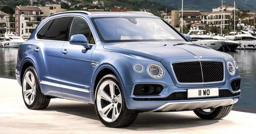 Bentley Bentayga Diesel – world's fastest diesel SUV Image #551722