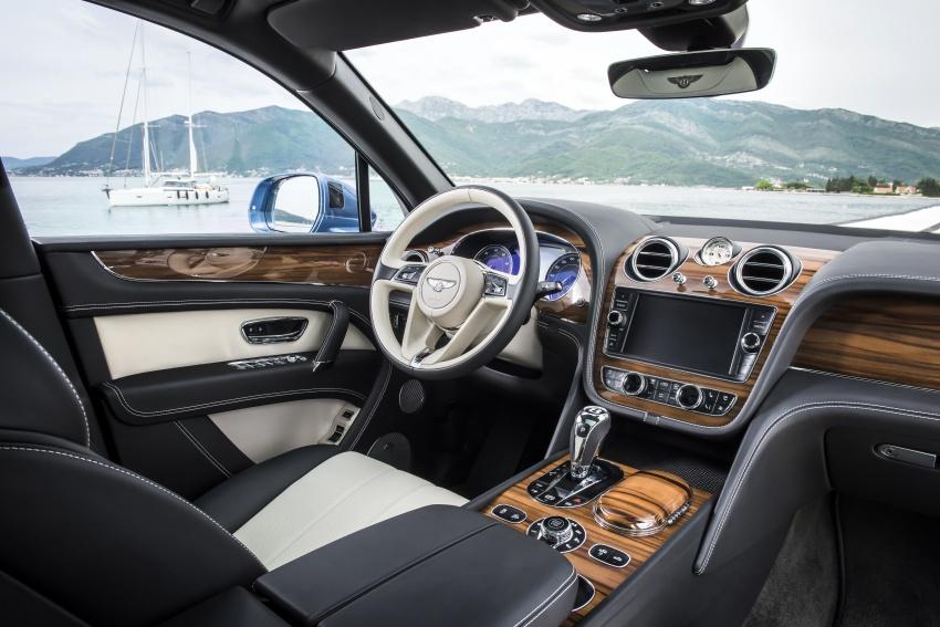 Bentley Bentayga Diesel – world's fastest diesel SUV Image #551726