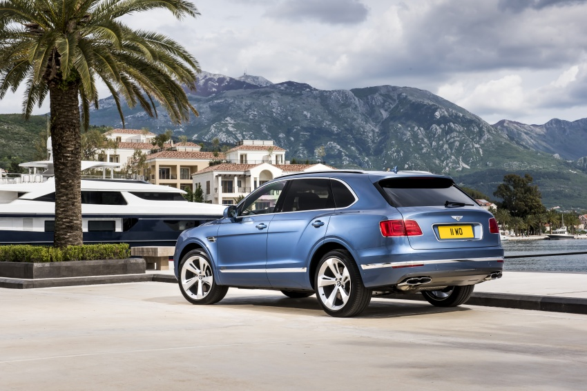 Bentley Bentayga Diesel – world's fastest diesel SUV Image #551727