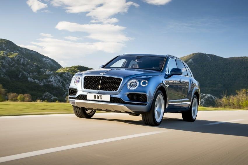 Bentley Bentayga Diesel – world's fastest diesel SUV Image #551709