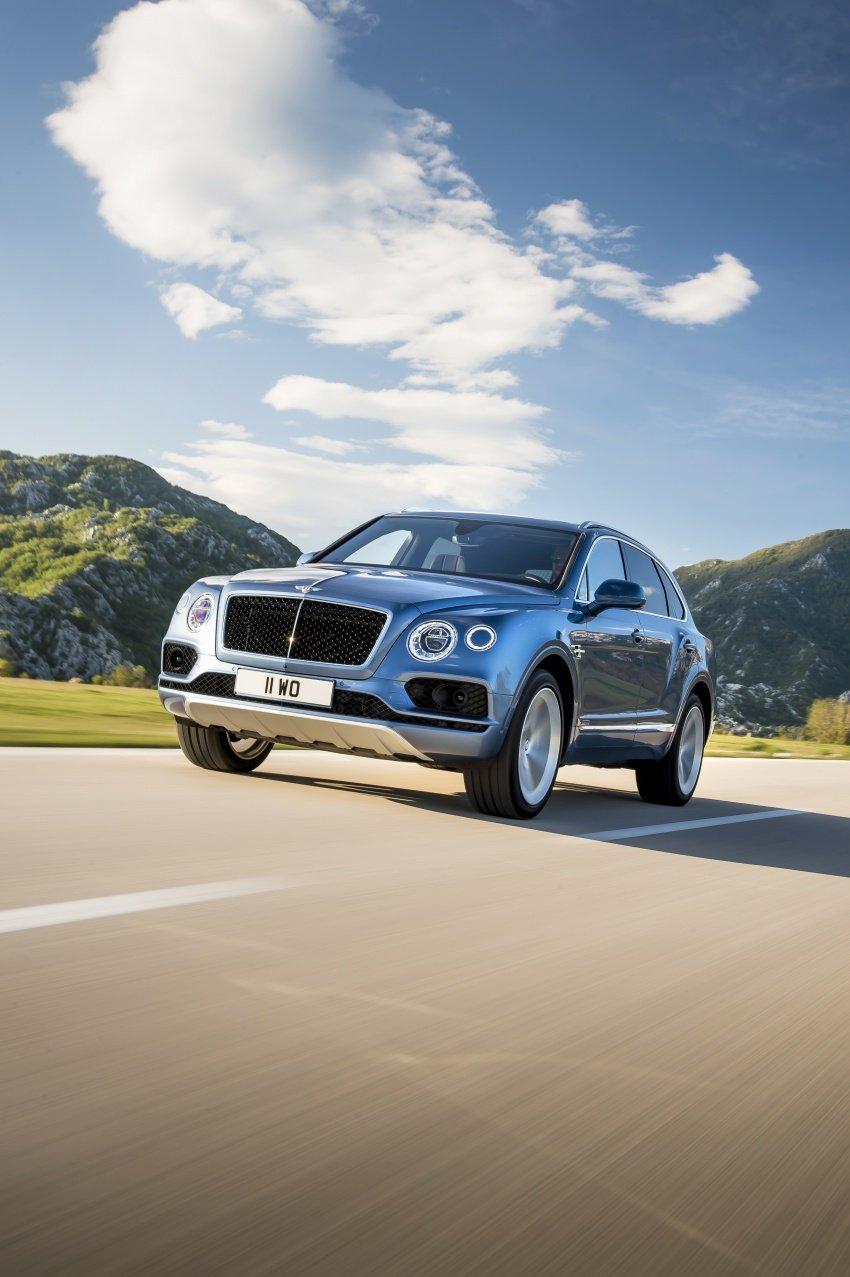 Bentley Bentayga Diesel – world's fastest diesel SUV Image #551711