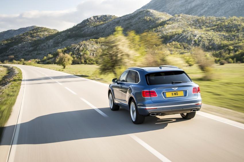 Bentley Bentayga Diesel – world's fastest diesel SUV Image #551713