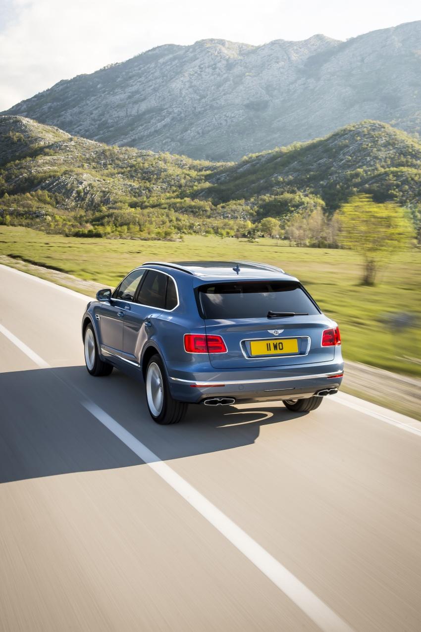 Bentley Bentayga Diesel – world's fastest diesel SUV Image #551714