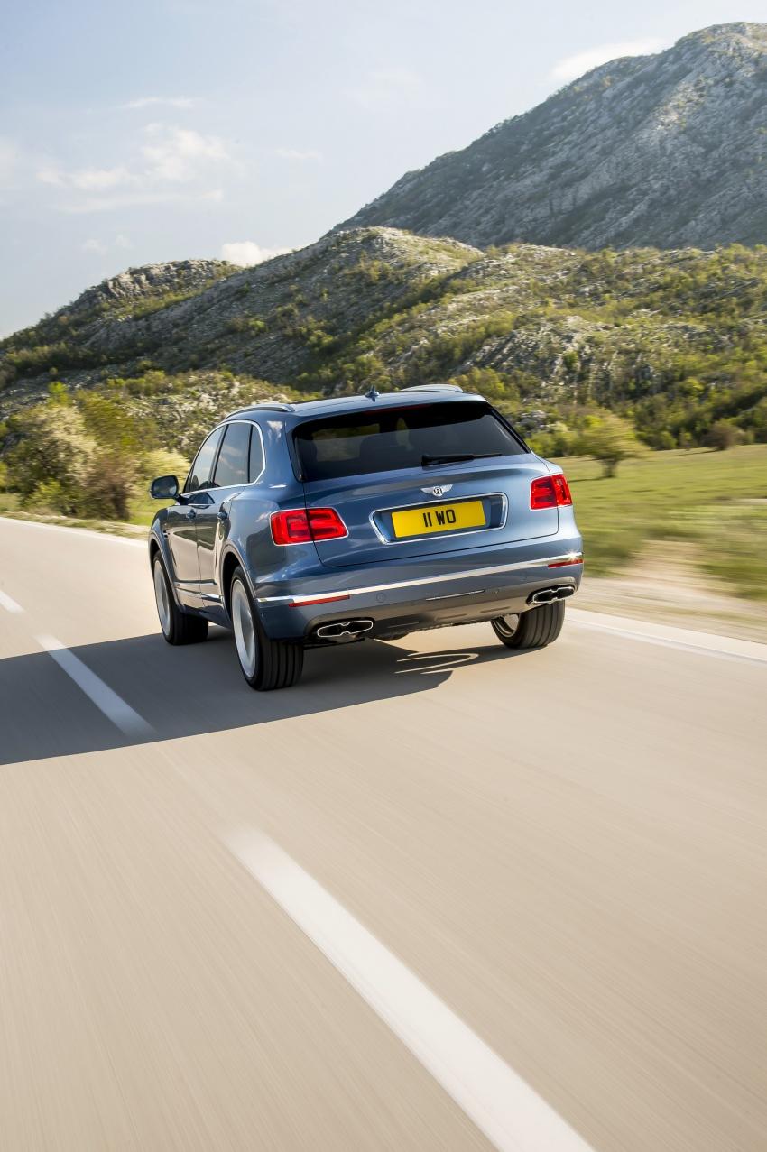 Bentley Bentayga Diesel – world's fastest diesel SUV Image #551717