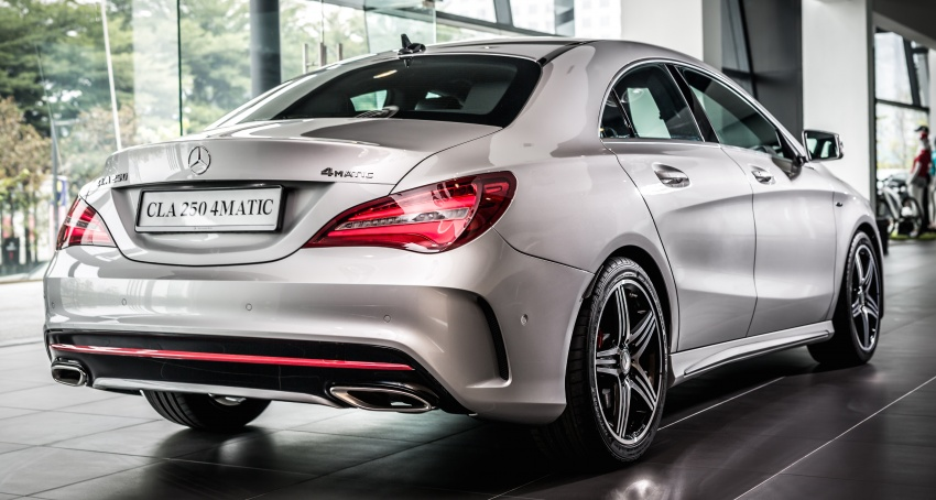 Mercedes Benz Cla Facelift Launched In M Sia Cla200