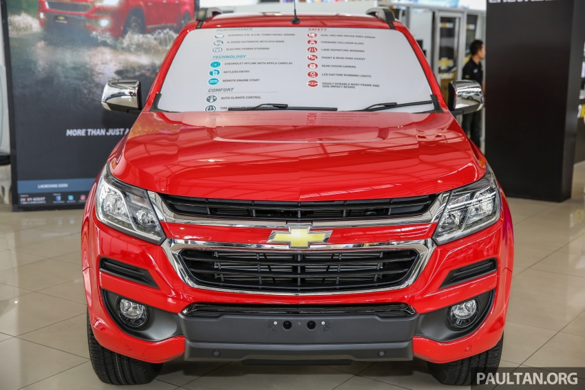 GALERI: Chevrolet Colorado facelift diprebiu di Naza World ...