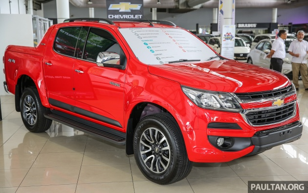 gallery chevrolet colorado second generation facelift goes on display at naza world automall. Black Bedroom Furniture Sets. Home Design Ideas