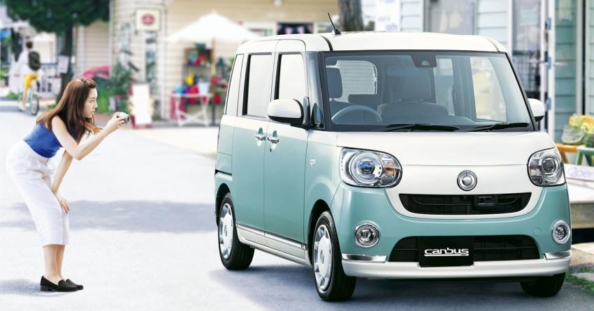 Daihatsu Move Canbus – Kei-Car comel untuk wanita Image #547314