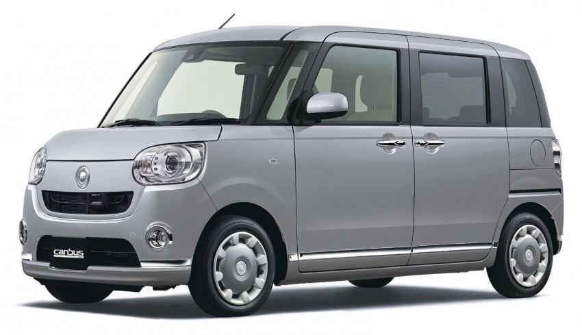 Daihatsu Move Canbus – Kei-Car comel untuk wanita Image #547292