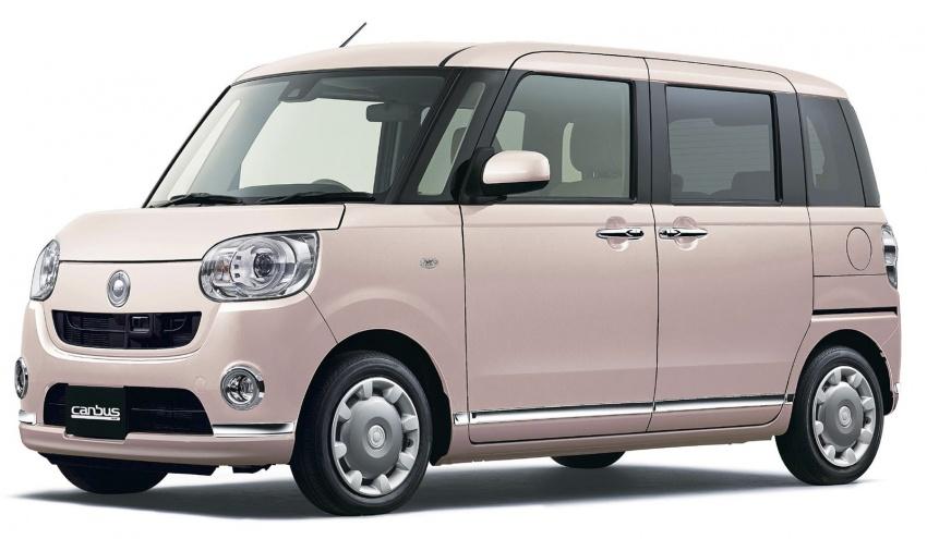 Daihatsu Move Canbus – Kei-Car comel untuk wanita Image #547289