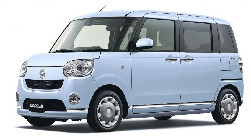 Daihatsu Move Canbus – Kei-Car comel untuk wanita Image #547286