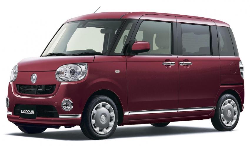 Daihatsu Move Canbus – Kei-Car comel untuk wanita Image #547282