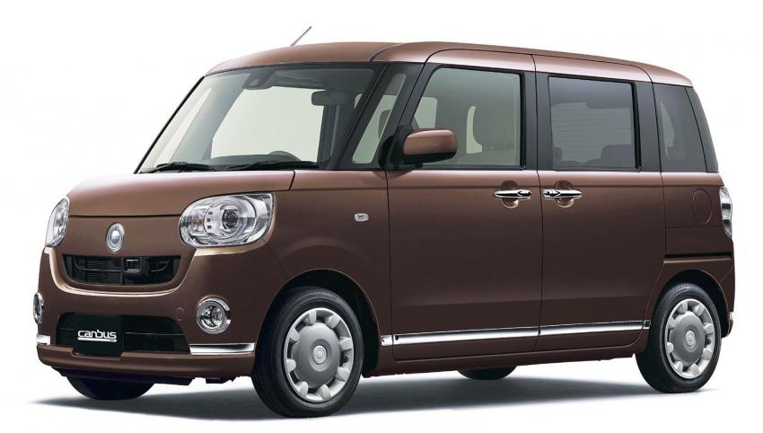 Daihatsu Move Canbus – Kei-Car comel untuk wanita Image #547281