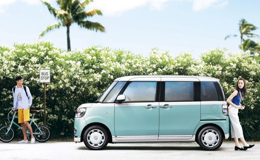 Daihatsu Move Canbus – Kei-Car comel untuk wanita Image #547313
