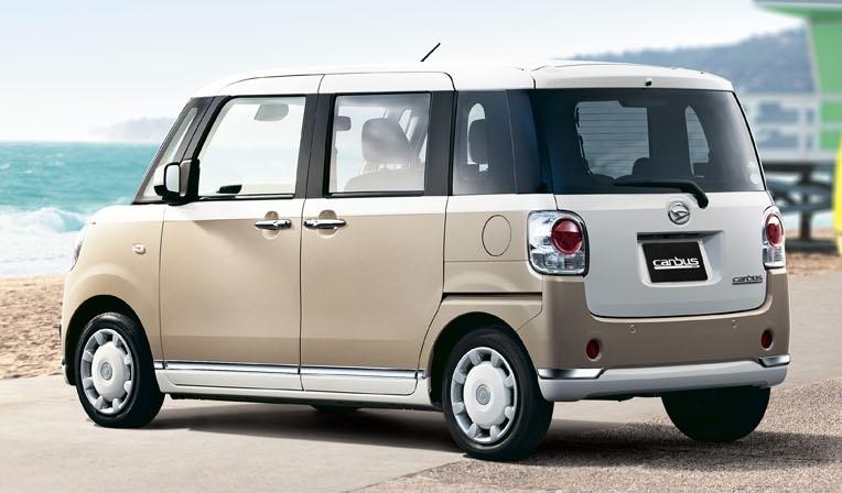 Daihatsu Move Canbus – Kei-Car comel untuk wanita Image #547312