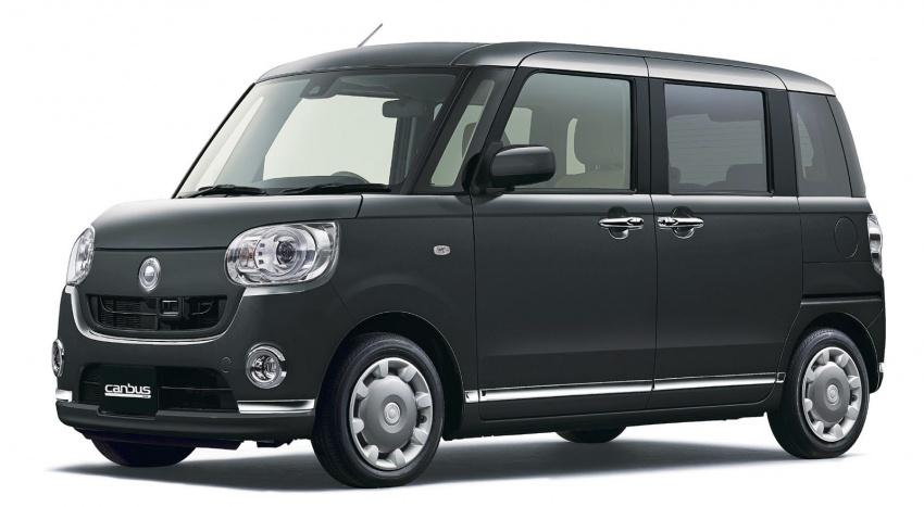 Daihatsu Move Canbus – Kei-Car comel untuk wanita Image #547280